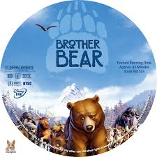 brother bear dvd labels 2003 r1 custom