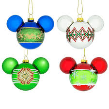 disney mickey mouse icon ornament set disney decorations