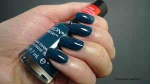 i relish nail polish revlon colorstay longwear midnight