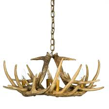 interior deer horn chandelier faux antler chandelier deer