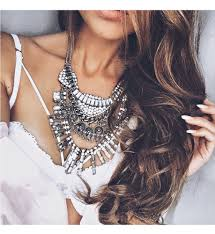 necklace statement images Bohemian statement necklace emely jpg
