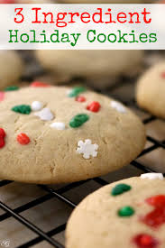 easy holiday cookies you already have the ingredients
