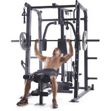 pro machine weider pro 8500 smith cage strength trainer walmart