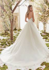 duchess satin and tulle ball gown wedding dress style 6831 morilee
