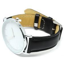 Jam Tangan Fashion Kulit Elegan Jam Tangan Fashion Kulit Elegan Black Silver