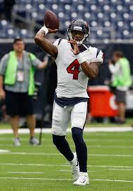 Houston Texans Flags Mixed Bag For Texans Rookie Deshaun Watson In Nfl Debut Houston