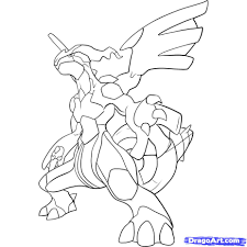 pokemon coloring pages black and white zekrom olegandreev me