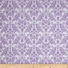 riley blake medium damask white lavendar discount designer