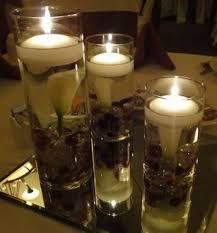 Glass Vase Centerpiece Set Of 3 Calla Lily Wedding Reception Glass Vase Table Centerpiece