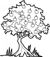 apple tree free coloring pages on art coloring pages