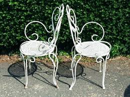 Antique Metal Patio Chairs Retro Metal Outdoor Furniture Aussiepaydayloansfor Me
