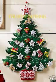 bucilla nordic tree felt advent calendar kit 86584