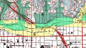 San Andreas Fault Line Map Breaking Here Is The Map Of The Hollywood Fault To Terrify You