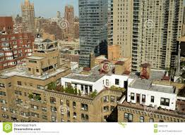 new york city rooftop penthouse royalty free stock photo image