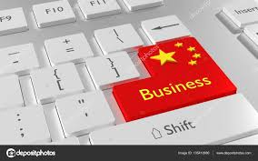 Image Chinese Flag China Flag Keyboard Red Enter Button U2014 Stock Photo Beebright