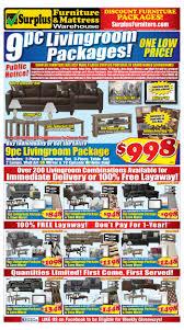 kitchener surplus furniture surplus furniture mattress warehouse flyers