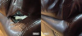 How To Fix Ripped Leather Sofa Repair Seam Tear Leather Sofa Centerfieldbar Com