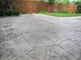 Flagstone Stamped Concrete Pictures by Backyard Sealing Stamped Concrete Patio Stamped Concrete Outdoor