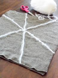 how to make a spider web pillow hgtv