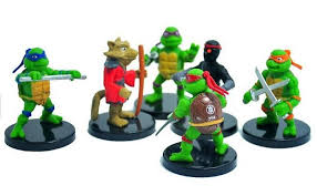 tmnt cake topper 2018 5 6cm mutant turtles tmnt pvc figure set toys