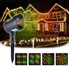 christmas outdoor lights at lowest prices amazon com motion christmas laser lights projector as seen on tv