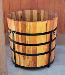 the half barrel planters built to last decades forever redwood