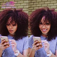 3a Curly Hair Extensions by Low Price 99j Malaysian Curly Hair 3 Bundles Curly Weave Human