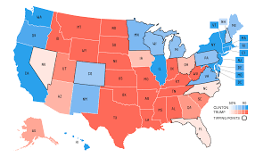 Red And Blue State Map by Testing The Sc For Graphical Contrast