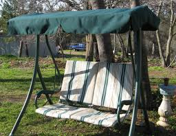 Patio Swing Cushions Kmart Martha Stewart Patio Swing Replacement Canopy For Model Rus485a
