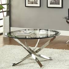 Base For Glass Coffee Table Furniture Uniquely Round Glass Coffee Table In All Rooms Latest