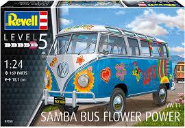 volkswagen van cartoon revell 1 24 vw t1 samba bus