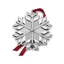 ross simons gorham 2017 annual sterling silver snowflake