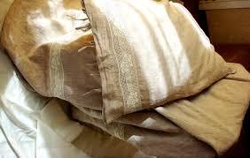 cappuccino vintage look linen bedding soft stonewashed linen duvet