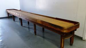 antique shuffleboard table for sale vintage 22 foot custom deluxe shuffleboard table k53 anaheim 2013