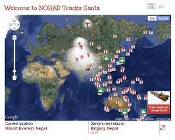 santa map this year norad tracks santa with microsoft not