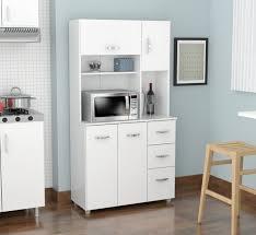 kitchen storage cabinets walmart inval 4 door laminate microwave kitchen cabinet white