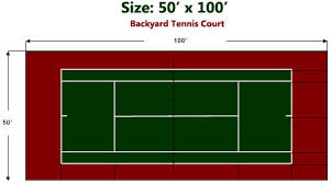 Backyard Tennis Courts A Sport Surface For Indoor Outdoor Sport Court Tiles Are Designed