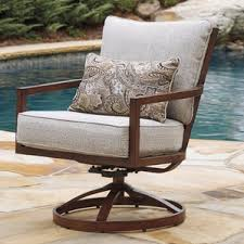 swivel outdoor club chairs you u0027ll love wayfair