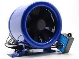 Hyper Fan 6 Inline Duct Booster Fan W Speed Controller Exhaust
