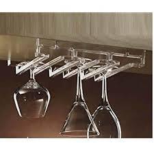 amazon com prodyne ar 100 acrylic stemware rack kitchen u0026 dining