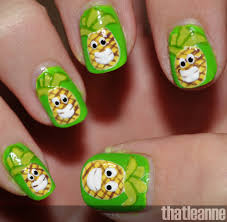 thatleanne crazy pineapple nail art tutorial and second vacation