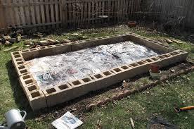 Concrete Block Garden Wall by Fascinating 50 Concrete Garden Decorating Design Inspiration Of