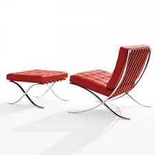 authentic barcelona chair by mies van der rohe for knoll