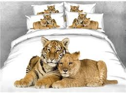 Tiger Comforter Set Tiger Print Car Seat Covers Beddinginn Com