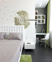 wanddeko fã r schlafzimmer schlafzimmer deko ideen wand dekoideen pusteblume weiße wände