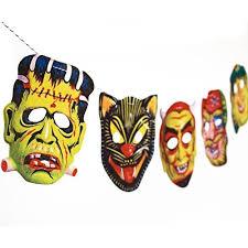 vintage masks vintage masks garland handmade photo