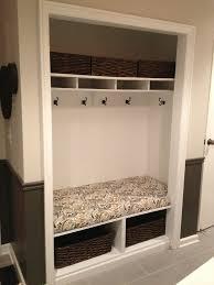 stunning design closet storage bench amazing mudroom tutorial