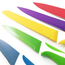 coloured kitchen knives set kitchen knives m u0027s home and kitchen choice
