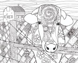 cattle coloring pages free page cow photo to printcow printable