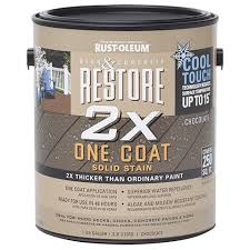 restore 2x one coat solid stain with cool touch technology